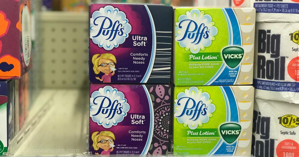 Puffs Facial Tissue de 48 ct