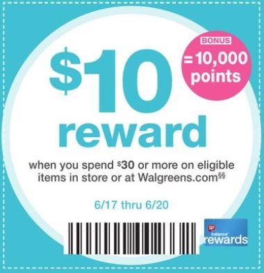Puntos Rewards en Walgreens - 6-17-18
