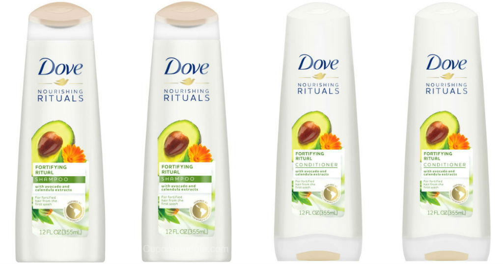 Shampoo o Acondicionadores Dove