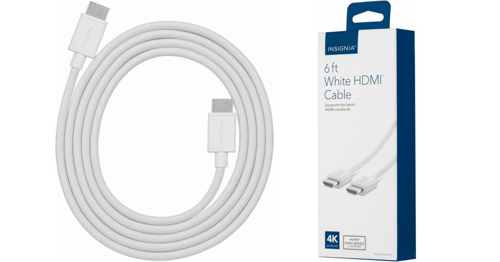 Cable HDMI Insignia 6' 4K
