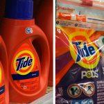 Detergentes liquido Tide o PODS a solo $0.74 en Walgreens