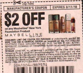 Maybelline New York Foundation Product - RMN 7-15-18