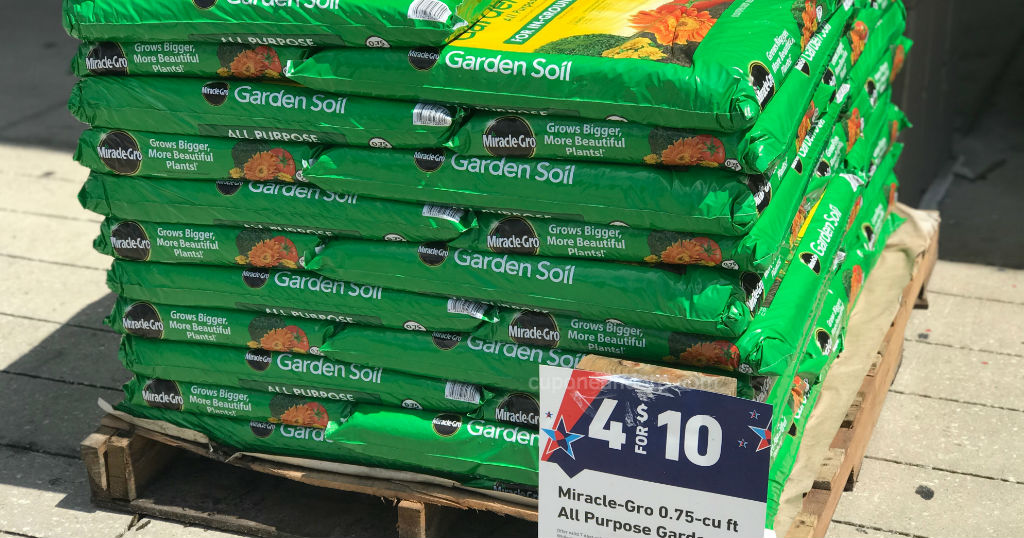 Miracle gro all purpose garden soil a solo en lowe s Miracle gro all purpose garden soil