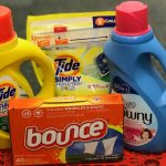 Tide Simply, PODS, Downy liquido o Bounce Sheets