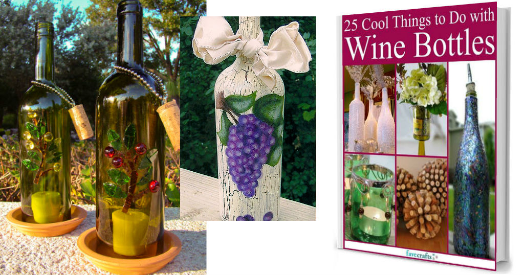 25 Cool Things to Do with Old Wine Bottles eBook GRATIS