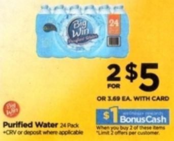 Agua Big Win - Rite Aid Ad 9-2-18