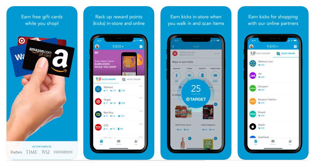 Cómo Utilizar Shopkick – Gana Gift Cards en Tiendas y en Línea
