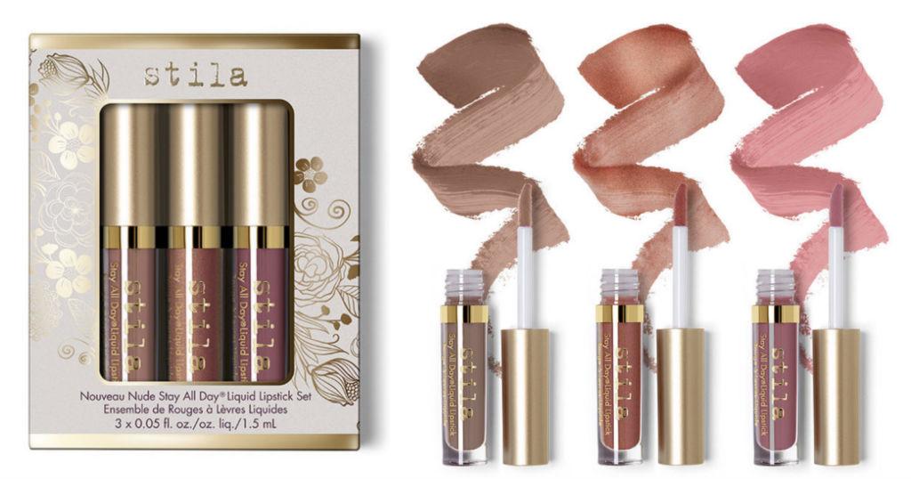 Nouveau Nude Stay All Day Liquid Lipstick Set