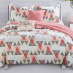 Better Homes Gardens Scattered Diamond Comforter de 5 Piezas