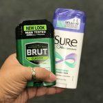 Desodorantes Sure o Brut
