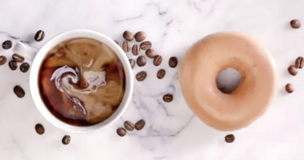 Dona y Cafe GRATIS en Krispy Kreme