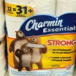 Papel Charmin Essentials de 12 ct