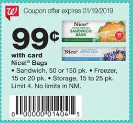 Bolsitas Nice - Walgreens Ad 1-13-19