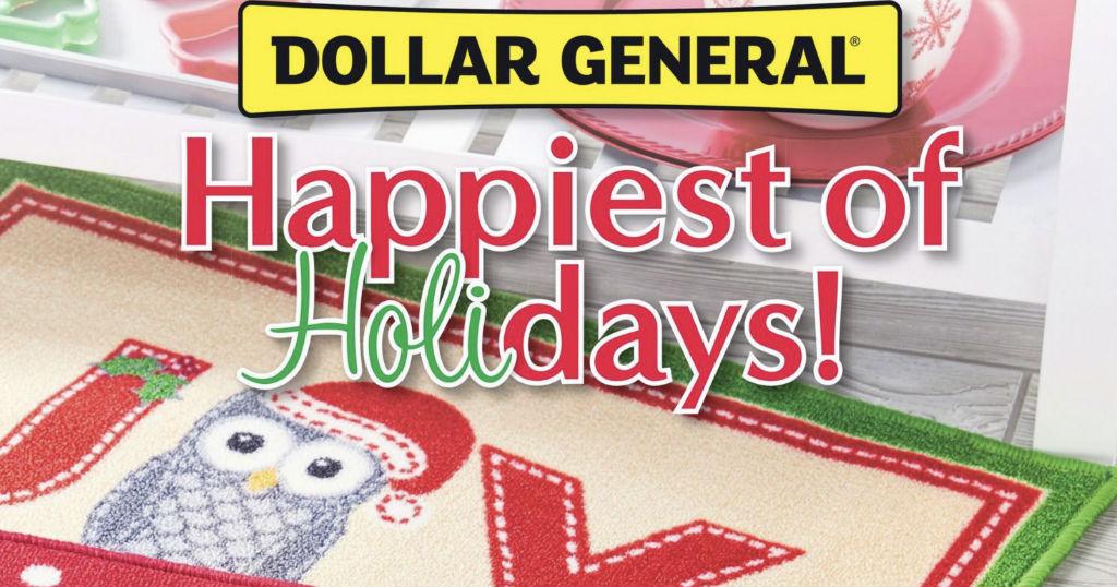 Catálogo de Navidad de Dollar General 2018