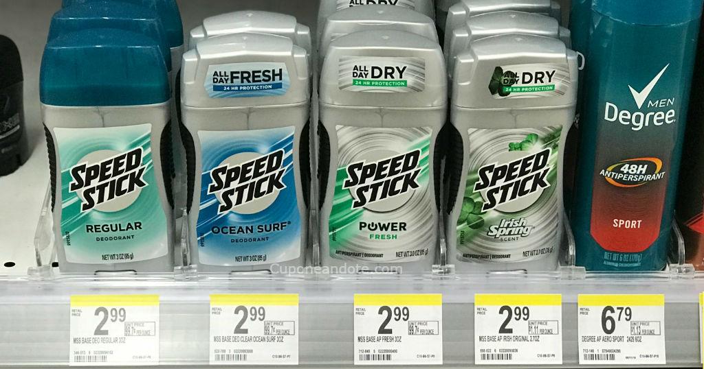 Desodorantes Speed Stick