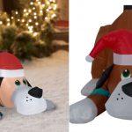 Inflable de Navidad Playful Puppy 2.5 ft solo $11.69 en Walmart