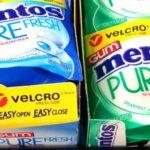 Mentos Velcro Pack Gum