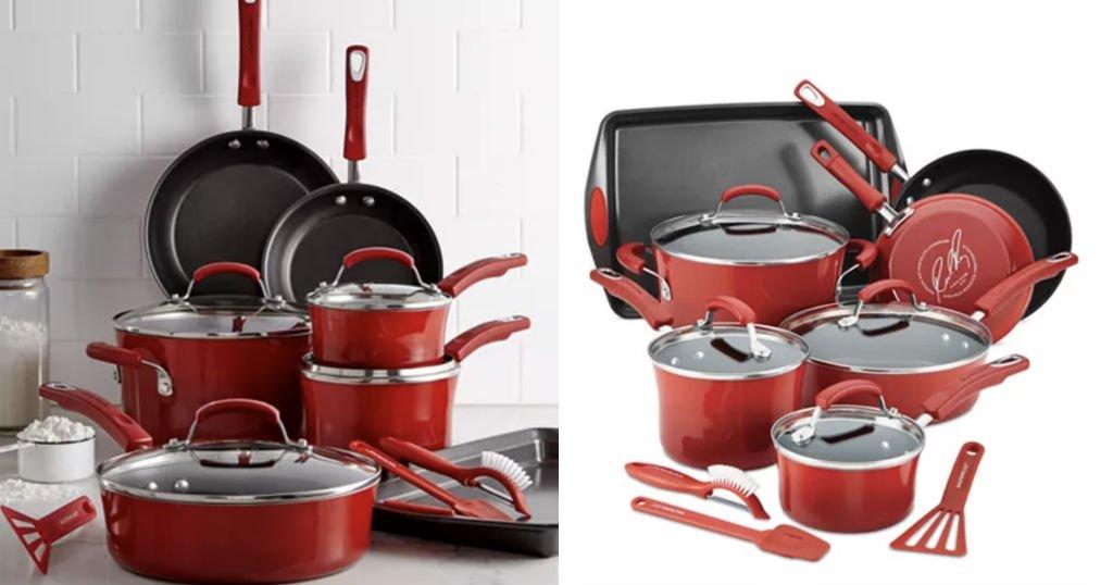 Set de Cocina Rachael Ray 14-Pc. solo $79.99 (Reg. $299.99) en Macy's