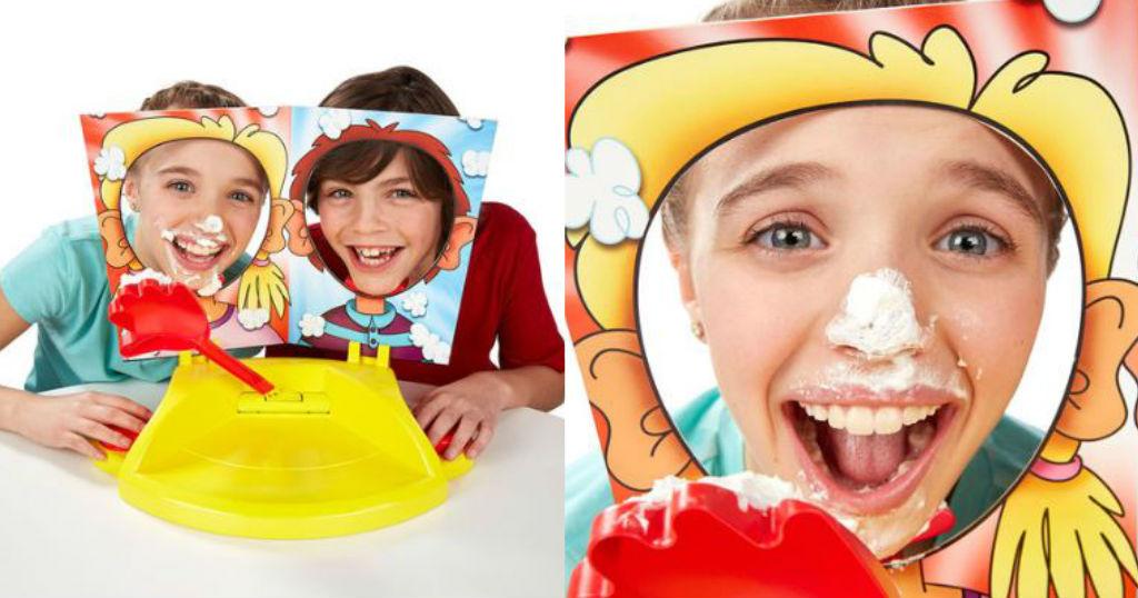 Juego Hasbro Pie Face Showdown a solo $6.99 (Reg. $24.99) en Best Buy