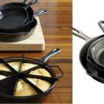 Set de Sartenes Cooks Cast Iron 3-pc a solo $26.39 (Reg.$60) en JCPenney