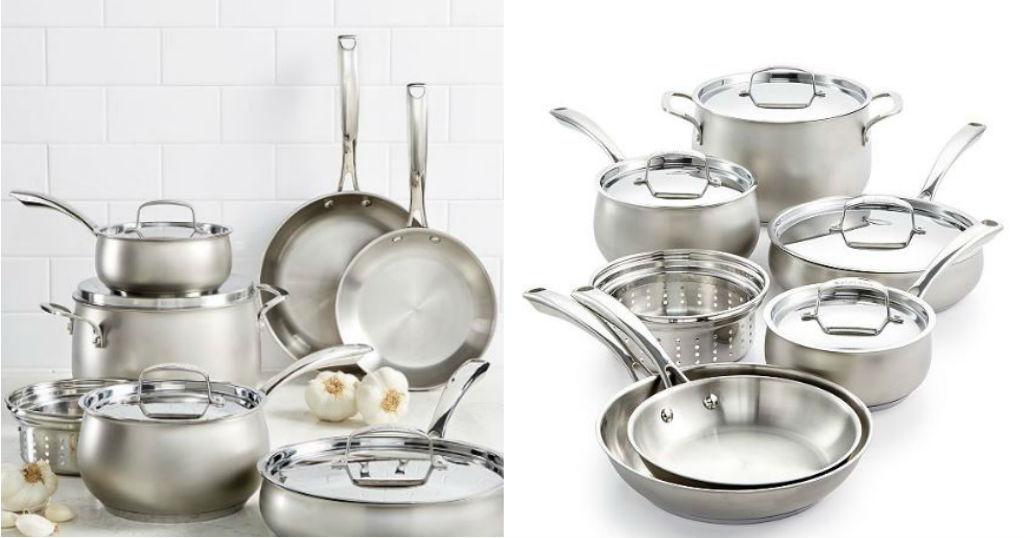 Set de Cocina Stainless Steel Belgique a solo $119.99 (Reg. $299.99)