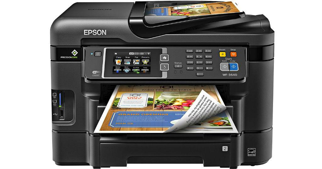 Impresora Epson WorkForce All-In-One