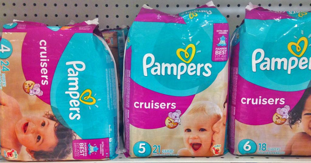Pampers Jumbo Pack Diapers a solo $7.99 en Rite Aid