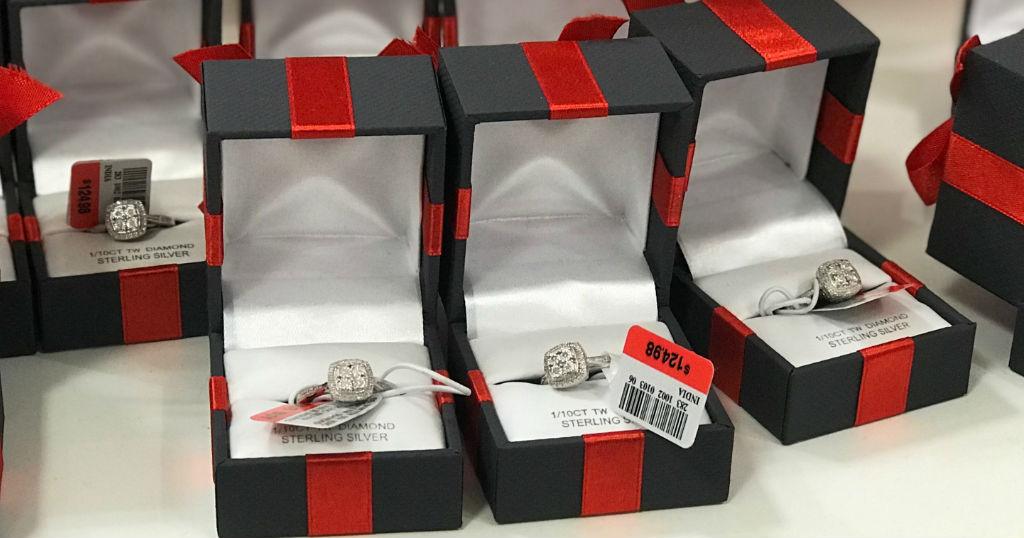 Sortija Genuine Diamond en Sterling Silver en JCPenney