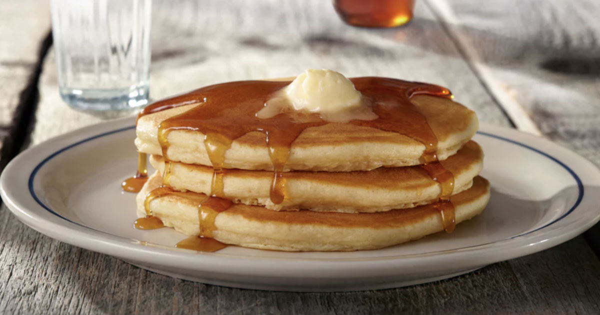Pancakes en IHOP