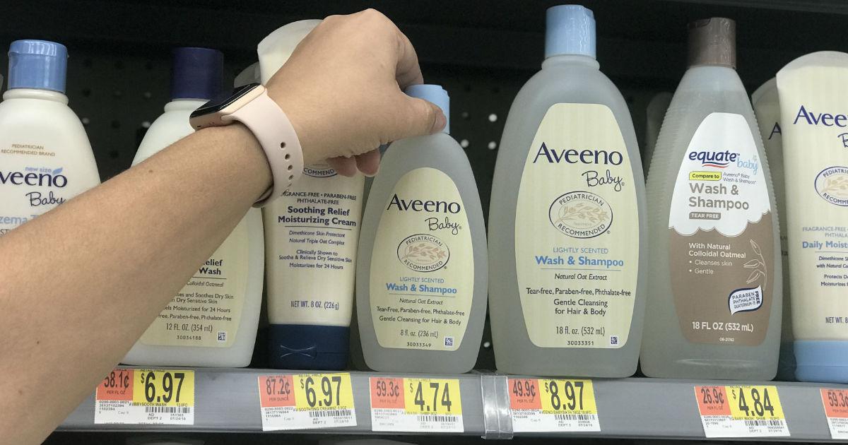 Aveeno Baby Wash and Shampoo SOLO $2.74 en Walmart