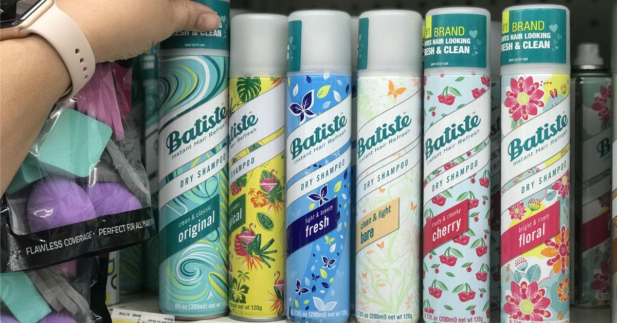 Batiste Dry Shampoo GRATIS en Walmart