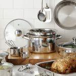 Set de Cocina Cooks 21-Piezas Stainless Steel SOLO $31.99 en JCPenney (Reg $100)