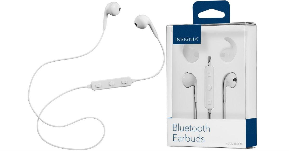 Audífonos Inalámbricos Insignia a solo $14.99 en Best Buy (Reg. $40)
