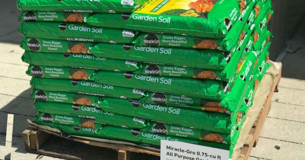 Miracle gro all purpose garden soil solo en home - Miracle gro all purpose garden soil ...
