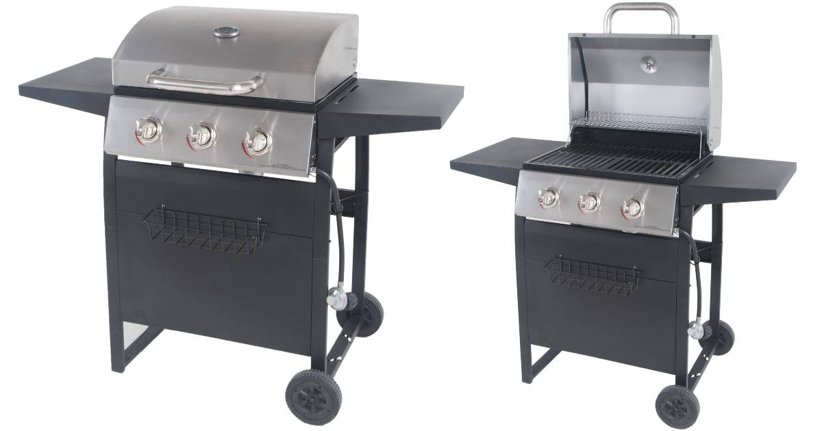 Grill de Gas RevoAce de 3 quemadores a solo $144 en Walmart (Reg $159)