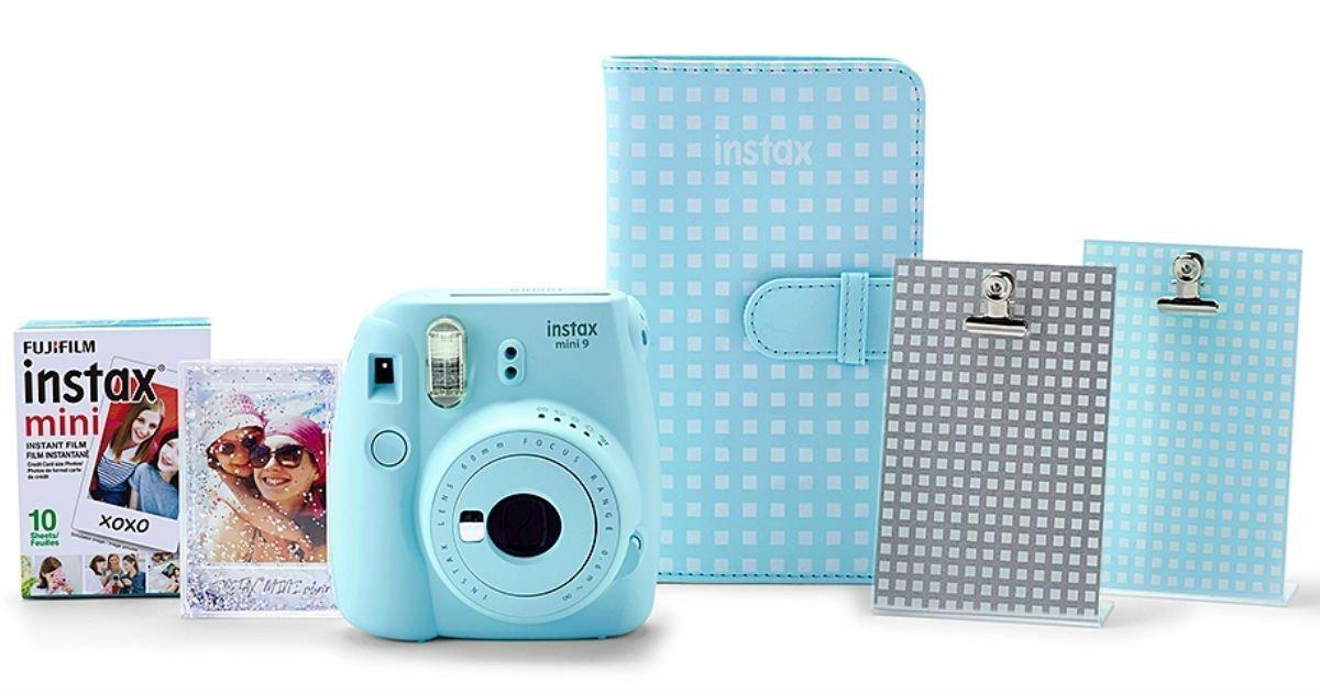 Set de 6 Piezas Camera Fujifilm Mini 9 en Zulily