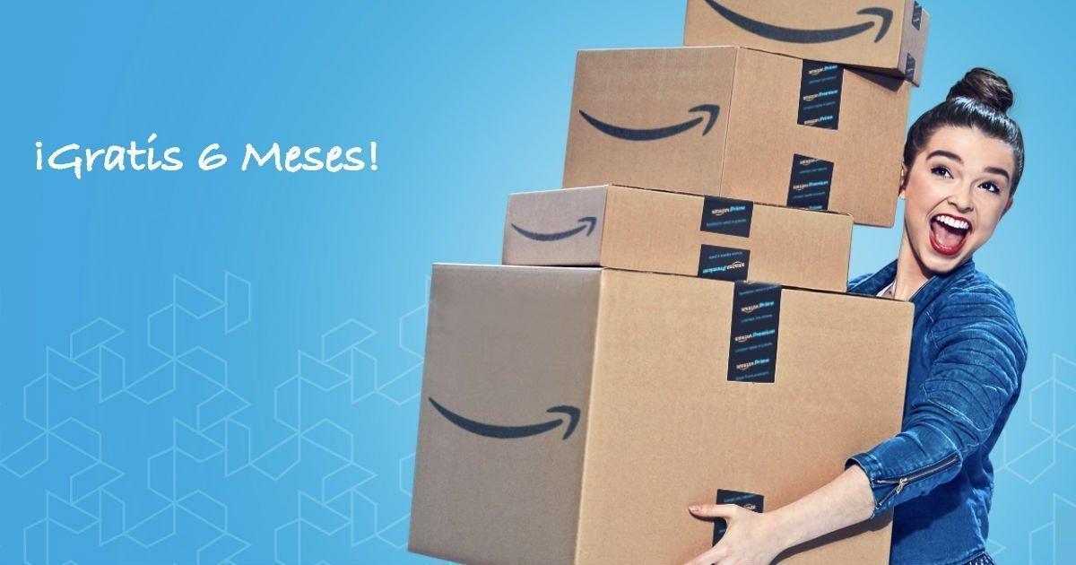 6 Meses de Amazon Prime para Estudiantes GRATIS