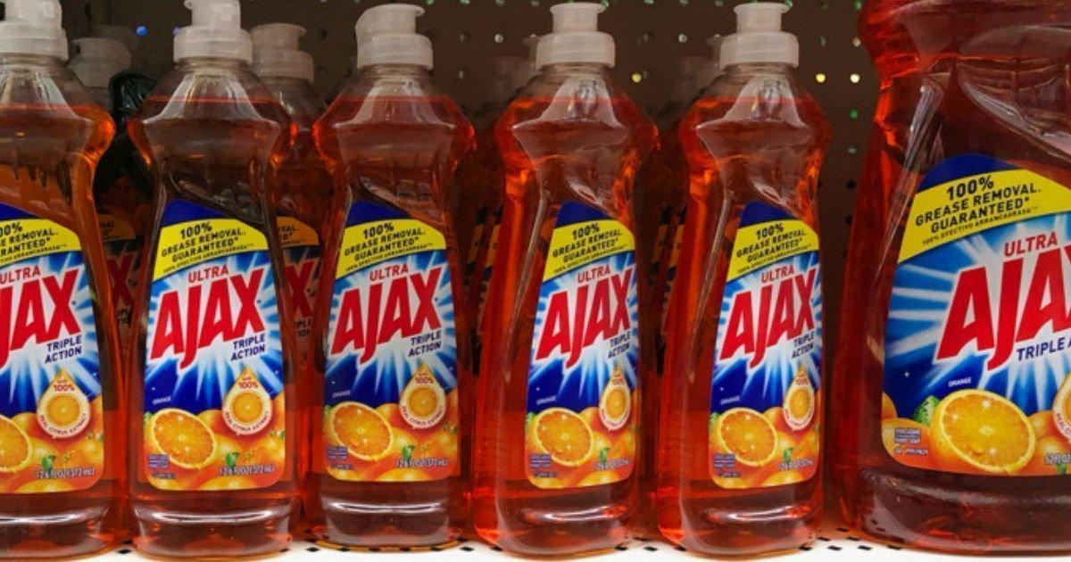 Liquido de fregar Ajax a solo $0.75 en Dollar General