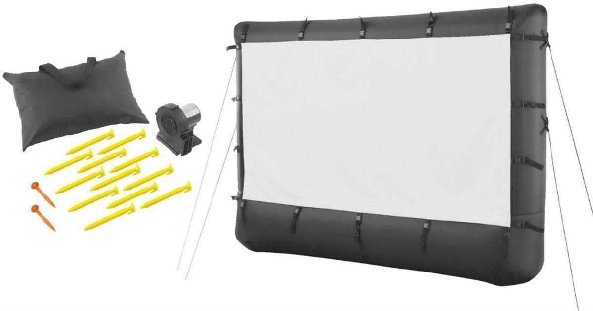 Pantalla de proyector inflable al aire libre