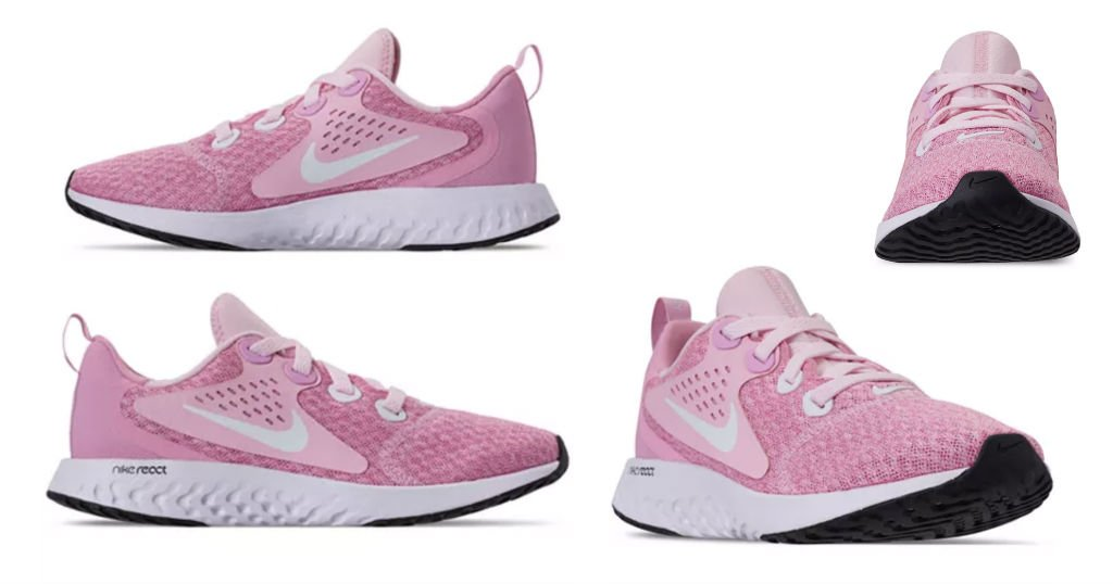 Tenis Nike Girls Legend React Running a solo $37.50 (Reg. $90) y Envio Incluido