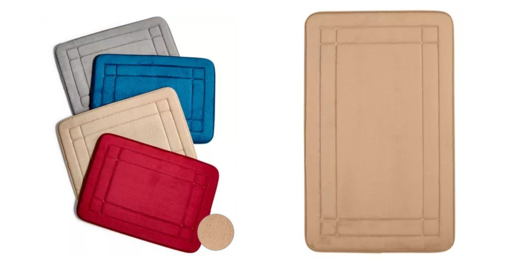 Alfombras Sunham Memory Foam Comfort Soft a solo $7.99 (Reg. $20)en Macys