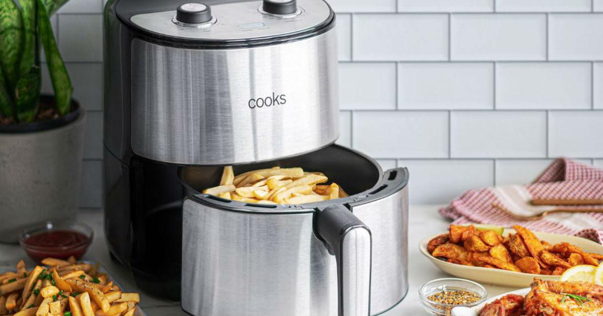 Freidora de Aire Cooks 4.3 qt