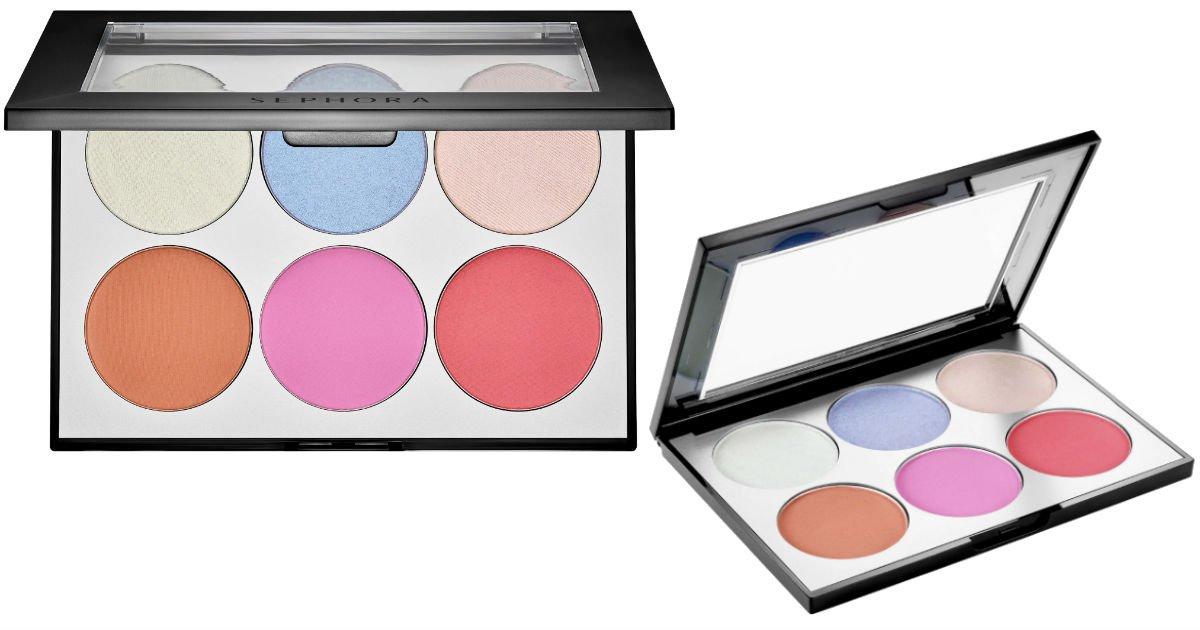 Sephora Collection Holographic Face & Cheek Palette SOLO $5 (Reg $28)