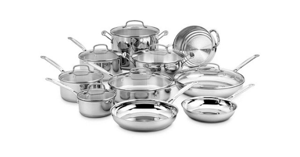 Set de Cocina Cuisinart 17pc Stainless Steel