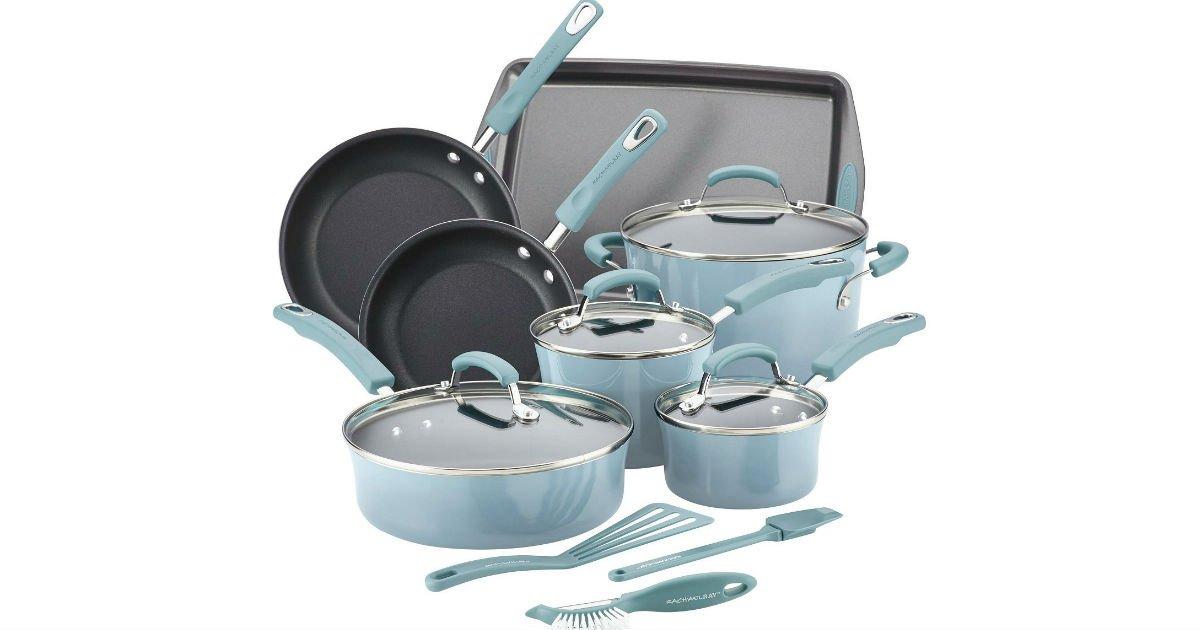 Set de Cocina Rachael Ray 14-Piezas