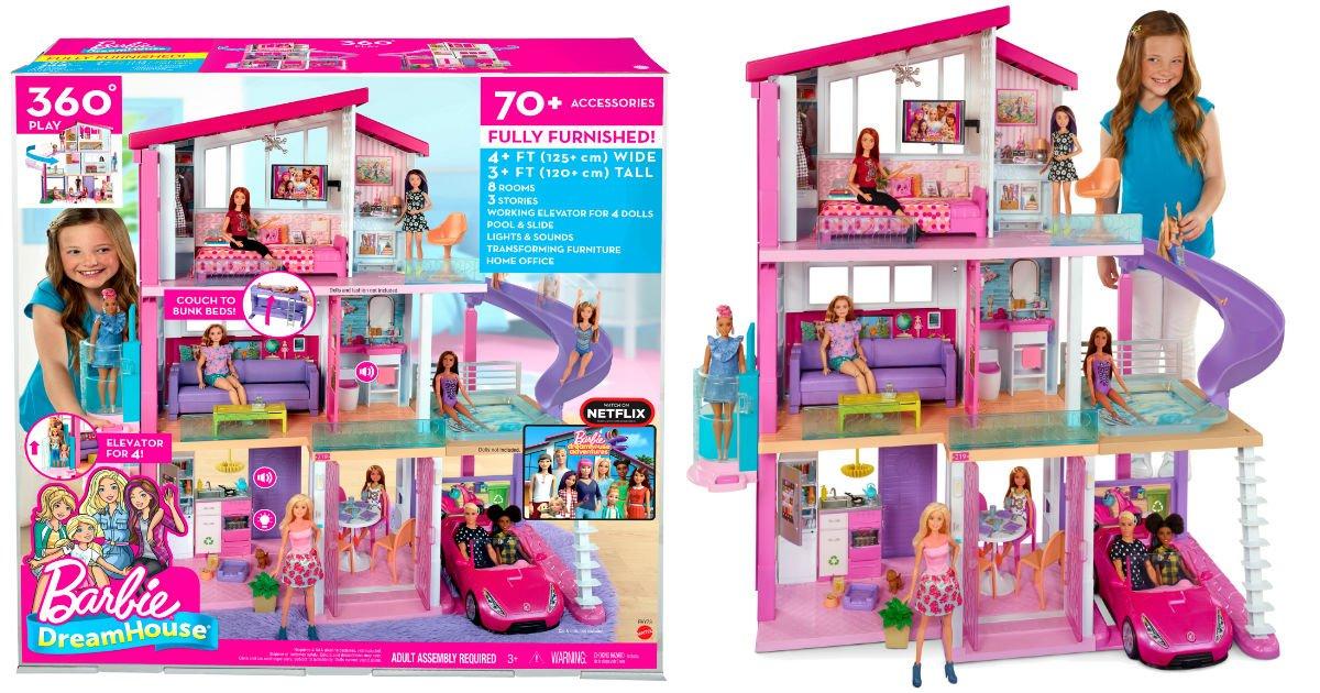 Barbie DreamHouse a solo $154 en Walmart (Reg. $199)