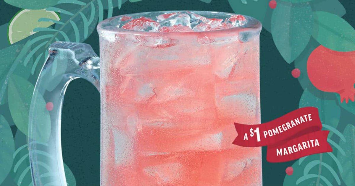 Bebida Pomegranate Margarita