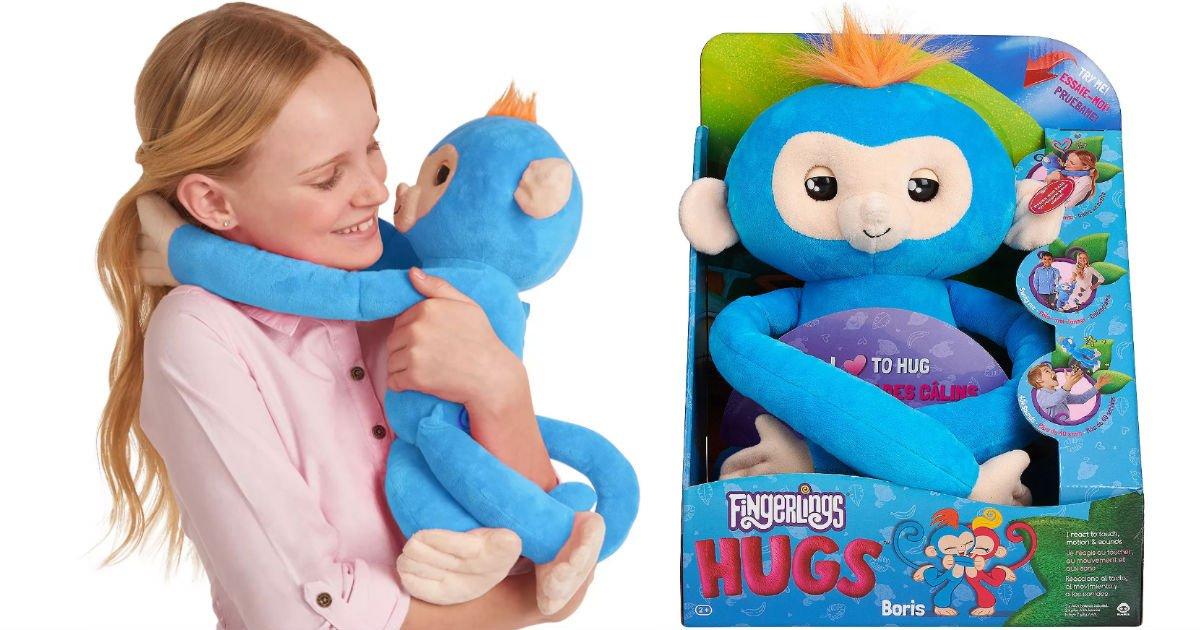 Fingerlings HUGS - Boris