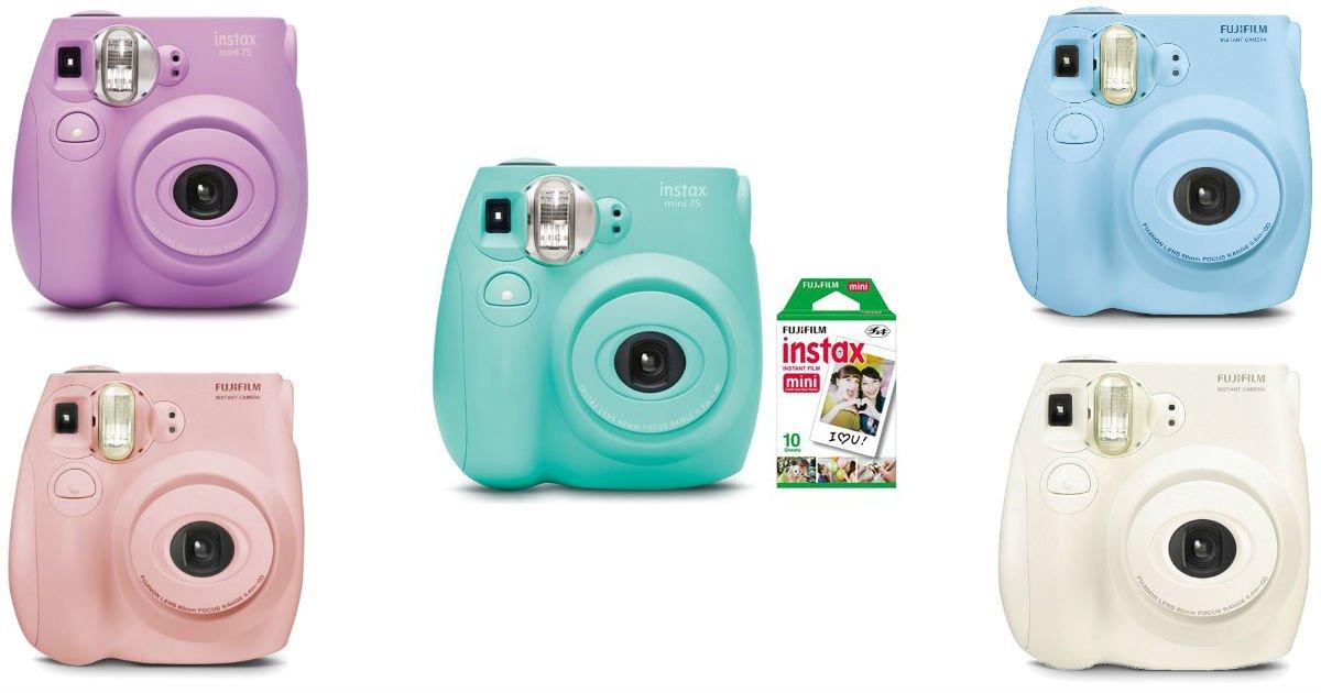 Cámara instantánea Fujifilm Instax Mini 7S a solo $49 en Walmart (Reg. $59)