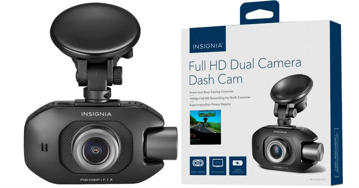 Insignia Full HD dual dash camera